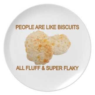 People Are Like Biscuits Melamine Plate