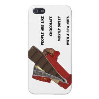 people are like chocolate case for iPhone SE/5/5s
