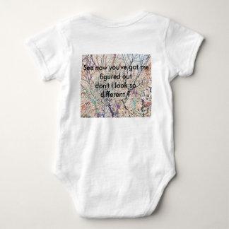 People are like paintings baby bodysuit