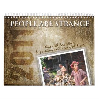 People Are Strange 2011 Calendar