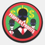 People B4 Profits Stickers
