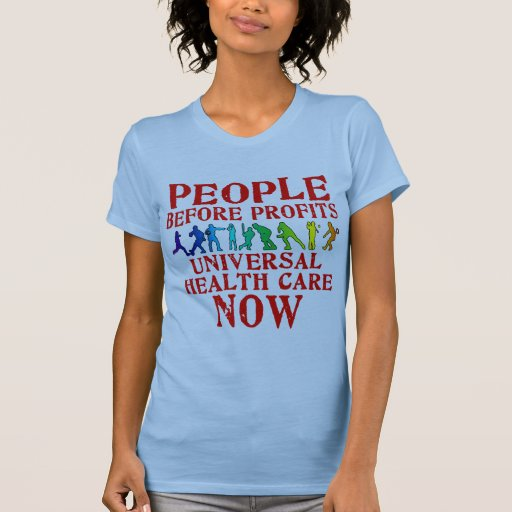 People Before Profits Health Care Design Tees
