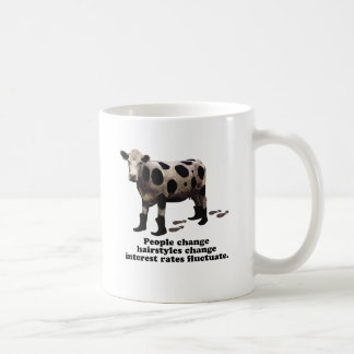 People change - Top secret cow Coffee Mug