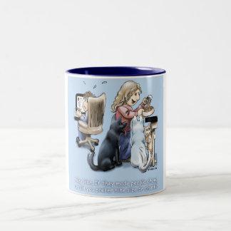 People Chow Two-Tone Coffee Mug