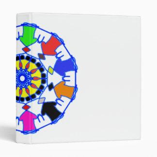People circle pattern binders