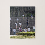 People climbing steps jigsaw puzzles