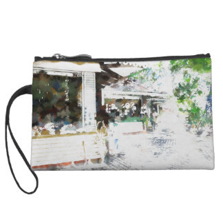 People doing purchasing in many shops wristlet