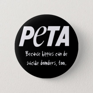 People Eating Tasty Animals Pinback Button