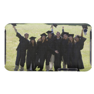 People excited at graduation iPod touch cover
