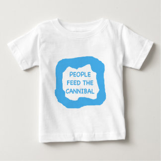 People feed the cannibal .png baby T-Shirt