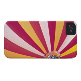 People filling a hot air balloon, Fort Collins, iPhone 4 Case-Mate Case