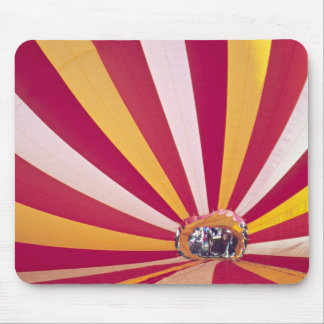 People filling a hot air balloon, Fort Collins, Mouse Pad
