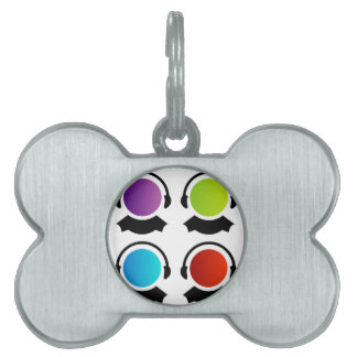people for customer care center pet name tag