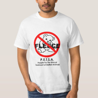 People For The Ethical Treatment of Stuffed Animal T-Shirt