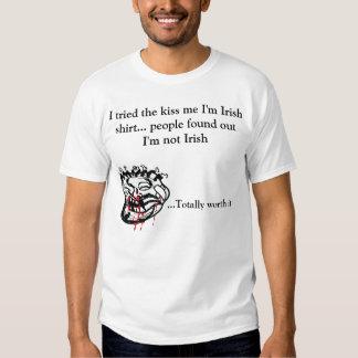 People found out not Irish Shirt