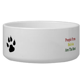 People From Bolivia Are The Best Dog Bowl