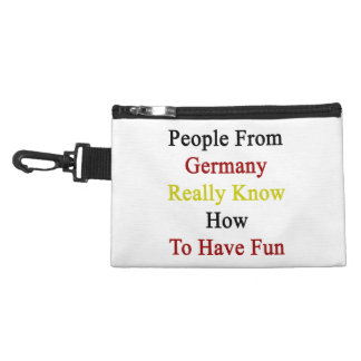 People From Germany Really Know How To Have Fun Accessory Bags