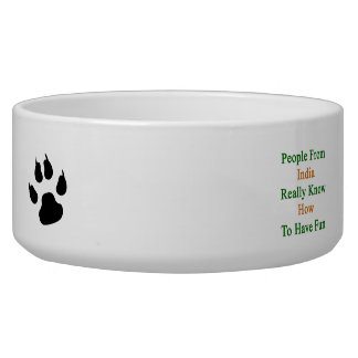 People From India Really Know How To Have Fun Dog Bowl