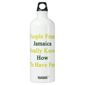 People From Jamaica Really Know How To Have Fun SIGG Traveler 1.0L Water Bottle