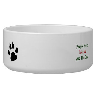 People From Mexico Are The Best Dog Water Bowls