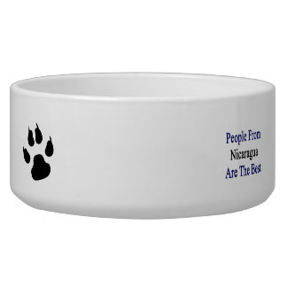 People From Nicaragua Are The Best Pet Water Bowls
