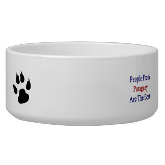 People From Paraguay Are The Best Dog Water Bowl