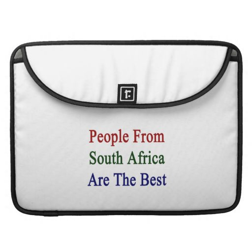 People From South Africa Are The Best Sleeves For MacBook Pro