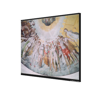 People from the Court of the Medici Canvas Print