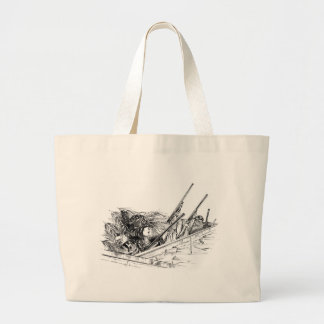 People Hunting Canvas Bags