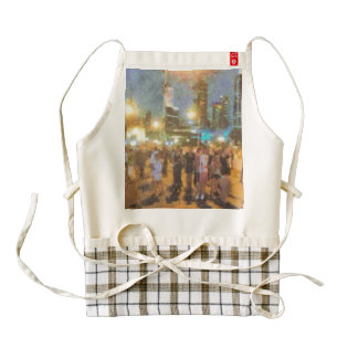 People in Melbourne Zazzle HEART Apron