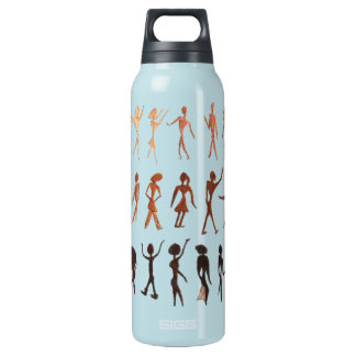 People in Motion Insulated Water Bottle