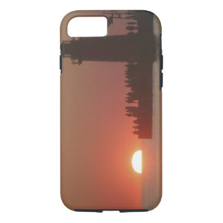 People lighthouse sunset silhouette at South iPhone 7 Case