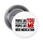People Like YOU 2 Inch Round Button