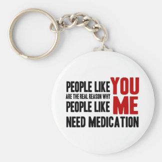 People Like YOU Keychain