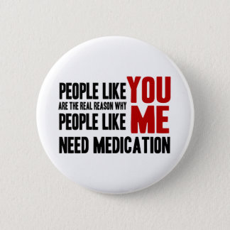 People Like YOU Pinback Button