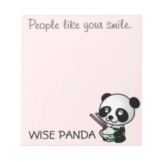 People like your smile note pads