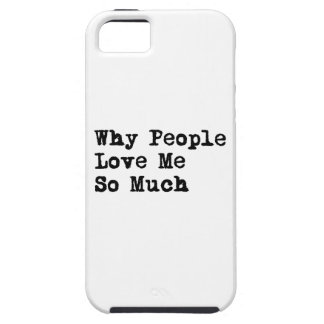 People Love Me iPhone SE/5/5s Case