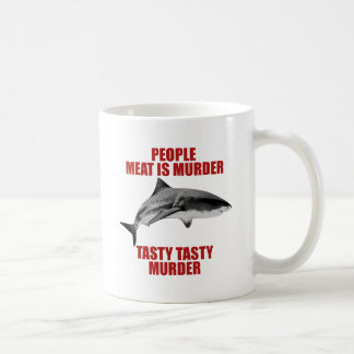 People Meat Is Murder Coffee Mug