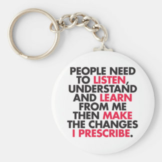 People Need to Listen... Keychain