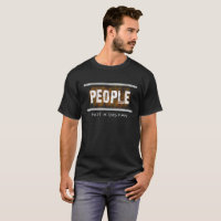 PEOPLE Not A Big Fan Funny Anti-Social T-shirt