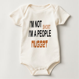 PEOPLE NUGGET FUNNY.png Baby Bodysuit