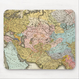 People of Asia and Europe Mouse Pad