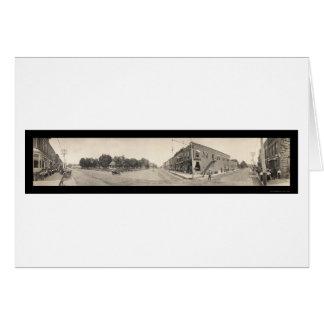 People of Glenwood IA Photo 1908 Card