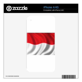 People of Indonesia Decals For iPhone 4S