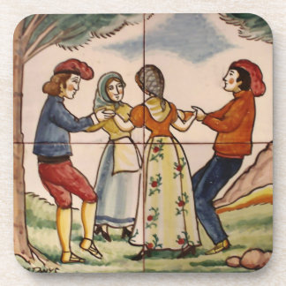People of Spain Dancing the Sardana-Coaster Drink Coaster