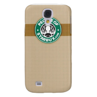 People of Starbux iPhone Case 3G Samsung Galaxy S4 Case