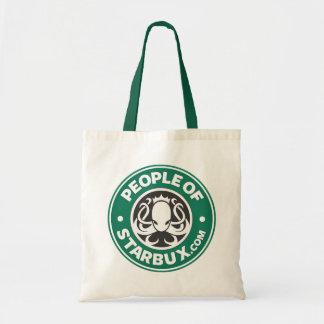 People of Starbux Tote Budget Tote Bag