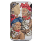 People of the Osagi Nation, from 'Le Costume Ancie iPod Case-Mate Case