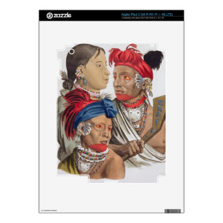 People of the Osagi Nation, from 'Le Costume Ancie Skins For iPad 3