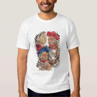 People of the Osagi Nation, from 'Le Costume Ancie T-Shirt